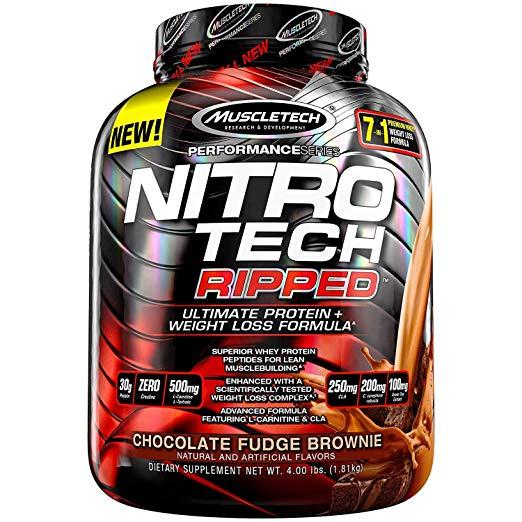 MuscleTech Nitro Tech- Weight Loss Protein Powder