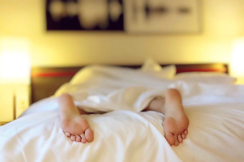Proper Rest- Stomach Flu Treatment